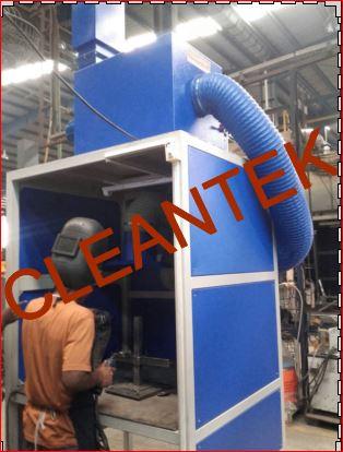 Booth Welding Fume Extractor