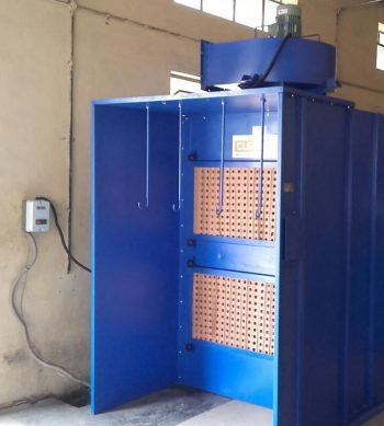 Paint Booth for paint dust extraction and filtration