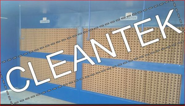 Paint Booth for excess spray paint Extraction