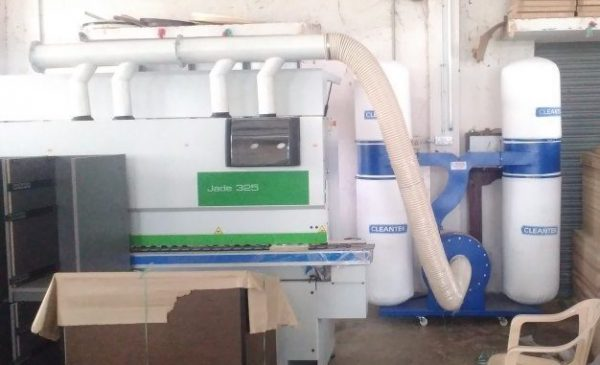 Double Bag Dust Collector for wood working dust Extraction applications