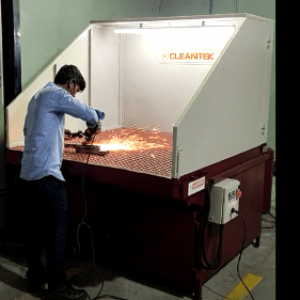 DownDraft Dust Collector Table