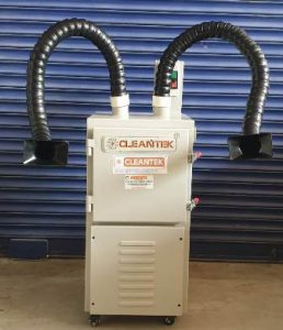 Double Arm Soldering Fume Extraction Arm