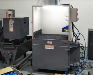 Benchtop Downdraft Table Dust Collector for grinding dust collection