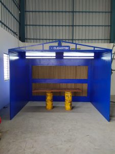 Dry Paint Booth