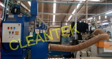 Electrostatic Oil Mist Collector for CNC mist fume extraction