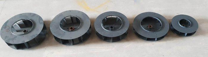 Impeller fan for blowers