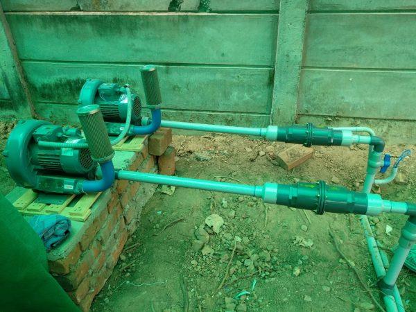 Ring Blower Instalation
