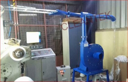 Paper Trim Extraction and conveying