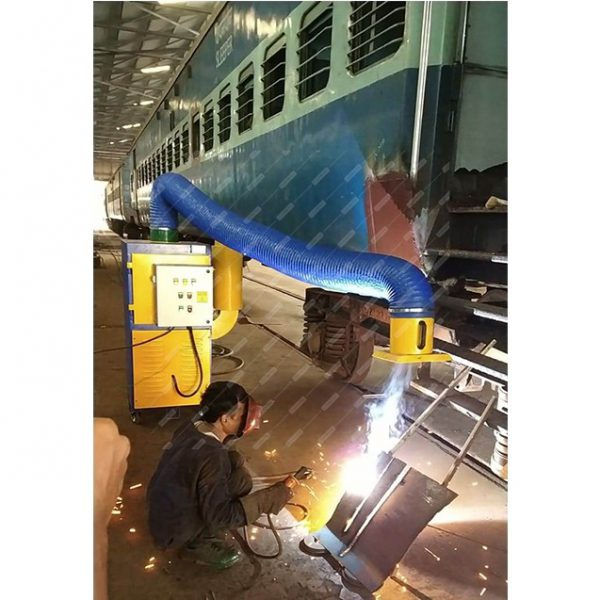 Portable Welding Fume Extractor for Welding fume Filtration and Purification