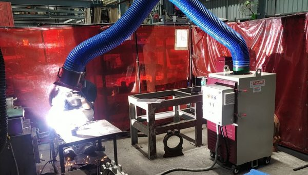 Portable Welding Fume Extractor for Welding Fume Filtration Applications