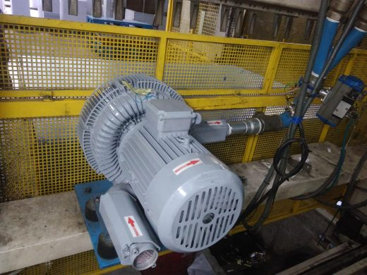 Ring blower for air pressure applications