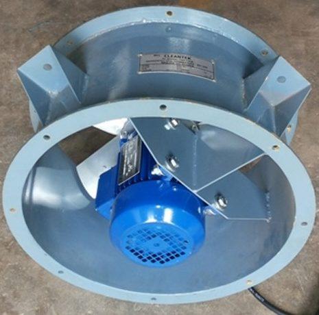 Axial fan for ventilation