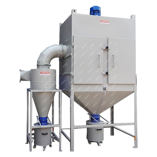 Cyclone dust collector for centralized dust collection