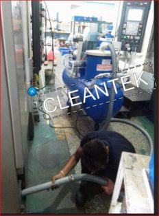 Oil Sump Cleaner for fluid recycling