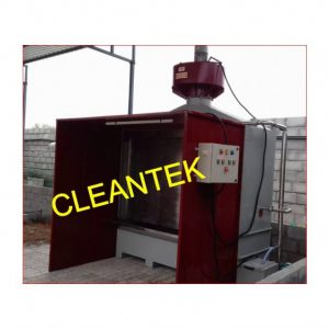 Liquid Paint booth for paint fume extraction