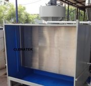 Wet paint Booth for Spray Paint fume Collection