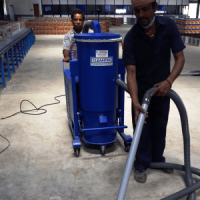 Industrial wet and Dry Vacuum Cleaner for floor cleaning