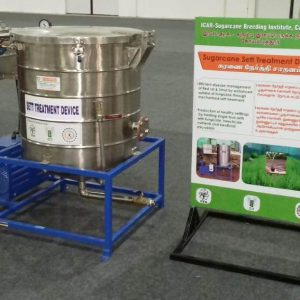 Sugarcane Seed Treatment Device