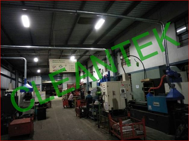 CNC Oil Fume Extraction
