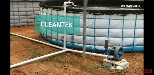 Biofloc blower for fish farm