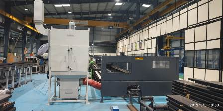 Laser Dust collector Fumes and Dust Extraction in Laser Cutting machines.