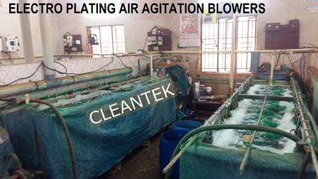 agitation and aeration blower
