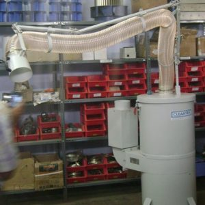 mobile suction arm dry dust collection