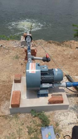 aeration and agitation water