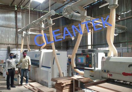 centralized dust collector for multi point dust collection