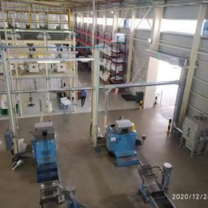 centralized dust collector