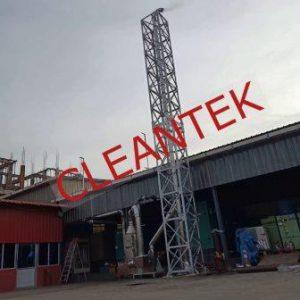 Generator Fume Scrubber Exhaust Ducting