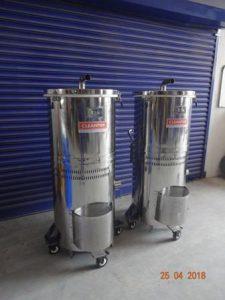 Explosion proof Vacuum cleaner for pharma vacuum cleaning